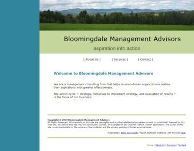 Bloomingdale Management Advisors