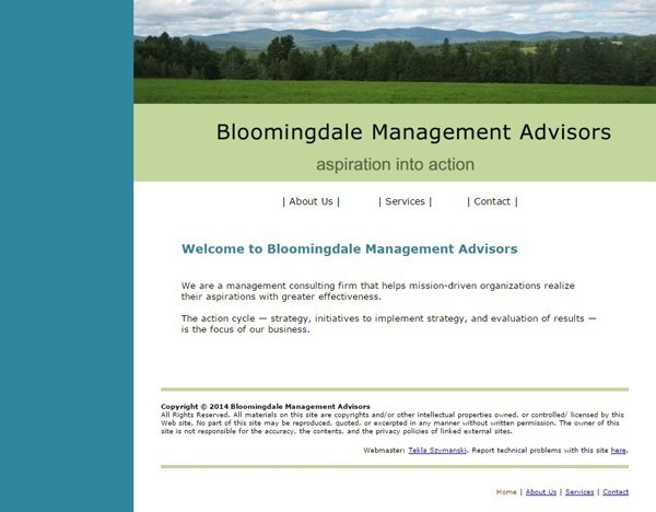Bloomingdale Management Advisors