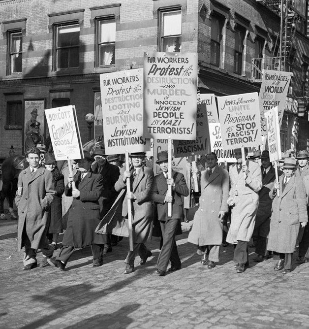 New York 1938 Aufbau