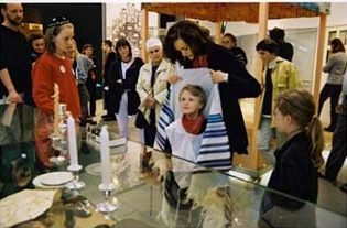 German children at the Jewish Museum