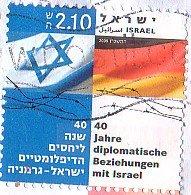 Israeli-German stamp
