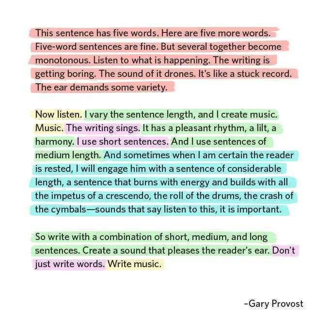 Gary Provost quote