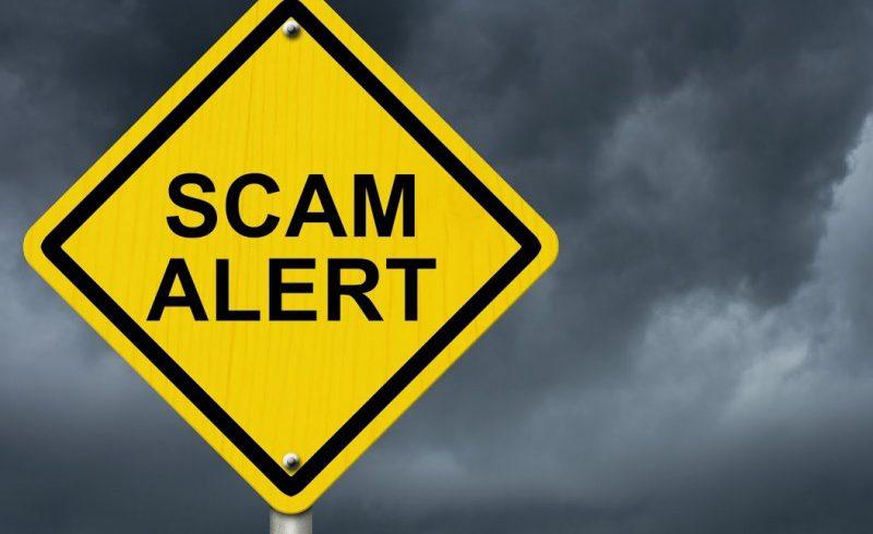 cashier check scam alert